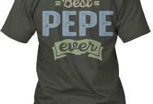 PEPE TEES / Gift ideas for Pepe! Tees, Hoodies and Long-sleeves available in the style and color of your choice! By Cido Lopez