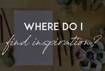 """Creative Inspiration / Art, creativity, painting, 'how to's, tips, design, living a creative life... Posts from my blog """"Beautiful Brush"""""""
