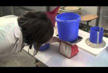 mallen maken / technieken keramiek