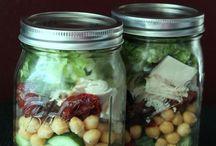 Mason Jar Salads /  Meals to go