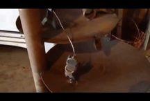 MetalWorks / Cogbots original metal scupltures