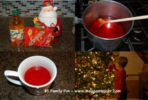 $5 Family Fun - Trim the Tree  / Things that a family of 4 can do for $5 or less.   Trim the Tree - Total Activity Cost: $2.  Includes recipe for Red Hots Cider.   www.megganspicer.com