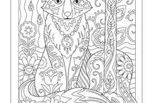 Coloring pages -  Omaľovávanky