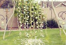 till trägår'n/for the gard'n / idéer till svenskt trädgårdsbröllop/ Ideas for a swedish garden wedding