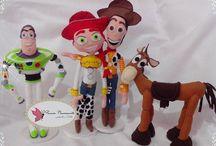 Toy Story em feltro / Toy Story em feltro