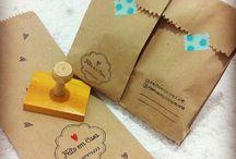 Embalagens, Etiquetas, Cartões.