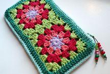 crochet bag/case