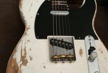 Guitar paint jobs