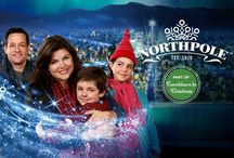 """Northpole"" / Tiffani Thiessen, Josh Hopkins, Bailee Madison, Max Charles, American Idol winner, Candice Glover, Robert Wagner & Jill St. John star in the most magical #Christmas movie of the season! Sharethehappiness.tv / by Hallmark Channel"