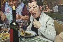 Yemek temalı resimler