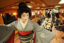 Taikomochi Shoot / Male Geisha Photoshoot