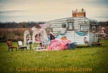 The Tin Tiara Vintage trailer rental