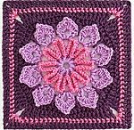 17C:  squares flower / patterns of flower-squares and tutorials of how -to-make-squares. (Joinig of these squares is on another board)