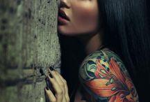 feminine body art