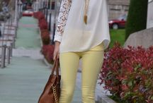 My new yellow jeans