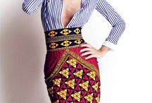 Ethnic/African Fusion / All about African/Tribal Prints and Ethnic Style