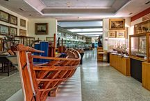 Hellenic Maritime Museum / In the museum the naval history of the Greek nation unfolds before the  eyes of the visitors, in consecutive halls.