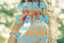 <3 Keep calm: Taylor Swift <3 / Este tablero lo he creado para tener todos los Keep calms de Taylor Swift :)