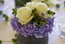 Hochzeit weiß-blau