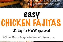 21 Day Fix Supper