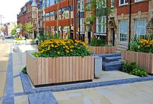 Church Street Project (Birmingham) / Some bespoke seating and planters for a development on Church Street, Birmingham.