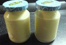 zavařování ovoce a zeleniny, jogurty apod