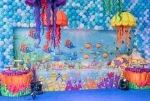 Cenário - Fundo Mar / Todo encanto e mistério do fundo do mar. Amamos!