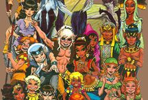 Elfquest Pini / Elfquest comics Richard Wendy Pini