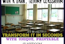 Classroom Labels and Posters / Posters and Classroom decor sets that will brighten up any classroom!