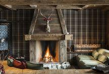 Ski Lodge / Inredning med inspiration av Ski Lodge.