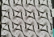 Meine Zentangle Bilder
