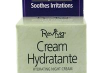 """Reviva Labs Night Creams & Serums / Night creams must penetrate to nourish effectively and to help correct skin problems beneath the surface of the skin. A night cream's formulation is critical to its overall effectiveness. It must absorb deeply and carry its ingredients along so they release and work overnight, while you sleep. Reviva's night creams and serums offer long-lasting nightly hydration via their natural """"base"""" composition and time-released liposomes or other delivery mechanisms."""
