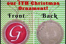 Embroidery Templates and In the Hoop Designs / Embroidery Templates and In the Hoop Designs to help easily make projects!