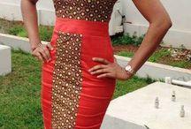 African dress design / African prints