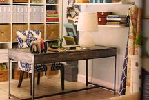 {crafty.office} / by Clarissa Stagg