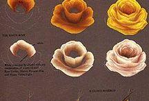 Pinceladas flores