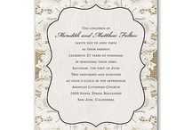 Anniversary and Vow Renewal Invitations / Mark your momentous occasion with a stylish anniversary and vow renewal invitation from Persnickety!