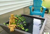 Backyard Oasis / Ideas on how to turn a regular backyard into a beautiful and private oasis!