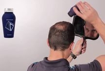 Hair Loss Solution Videos / 20 Seconds to the appearance of THICKER, FULLER Hair with Infinity Hair Fibers.