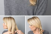 Hair updos and stuff to try!