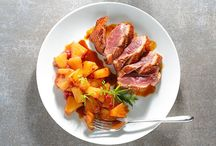Cuisiner la viande / Agneau, boeuf, cochon... Des recettes et suggestions de compositions pour proposer des repas originaux !  Photographies © Promocash