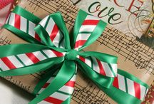 The Holiday Spirit at Ribbon by Design / Celebrating the Spirit of the Holidays with ribbon!