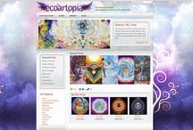 Design & Development / My personal graphic arts, website design & development work.
