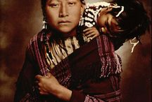 colourized natives' photos