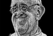 TÉCNICA SKETCH DIGITAL / Trabajos del caricaturista Kikelin