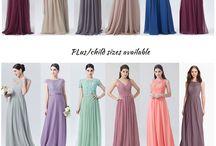 Choosing Your Bride's Maid Dress