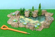 Britains Floral garden toys