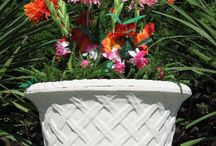 concrete outdoor planters