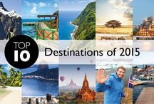 Top 2015 Destinations / by Flight Centre Canada