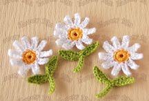 kwiatki szydelkowe
